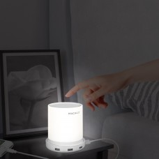 Macally Dimmable Table Lamp with 4 USB Charging Ports (LAMPCHARGE)
